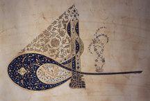islami çizgiler ve geometrik harmoni