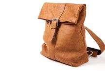 3.7.6. Backpack PBW50 (315257) / Beige natural leather, beige fabric inside Size (mm) 320 x 120 x 390