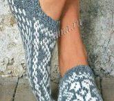 носки, тапочки
