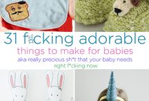 Baby gifts / Gifts for mamas, papas and opas to be, and the little one too!