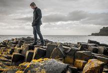 Steven Cox Instagram Photos When we visited Giant's Causeway... Ireland. Mia took this.  #selfie #ireland #giantscauseway #travel