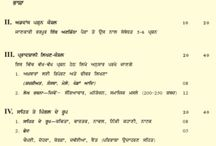 Punjabi question pattren