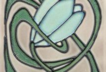 fiori disegni x cuerda / raccolta di disegni adatti a essere realizzati con la tecnica cuerda seca