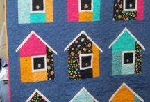 Quilts - Houses