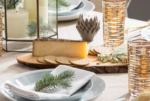 Holiday Tabletop / Sculpted ceramics, hand-blown glassware, and wood accents bring a rustic twist to your seasonal setting. Natural wood and neutral notes add simple style to serveware and centerpieces—pair with Iittala glass for a hint of Scandinavian minimalism that's cool any time of year. Complete the look with the upcycled Bark cheeseboard for an appetizing way to spread holiday cheer. Find all your tabletop ideas + inspiration for the holidays here! / by AllModern