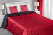 Saténové prehozy na posteľ