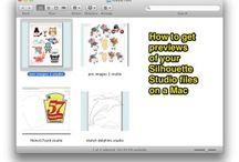 Silhouette Studio Tips, Tricks and Tutorials / Tips, Tricks and Tutorials for getting the most out of your Silhouette Studio software