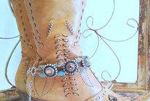 schoenen/slippers pimpen