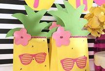 hawaiian party packs and gift idea's