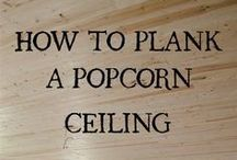 Plank ceiling