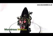 Monstrous Medusa Monster High heels