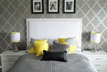Grey and white room / by Courtney Drummy