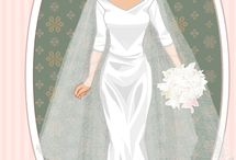 Meghan, Dutchess of Sussex / Wedding dress of Meghan, Dutchess of Sussex.  I made them by myself in doll makers dress up. Maybe in future I will add more fashion of Meghan. Because of low choice of accesories, I had to use just  most similar pieces of clothing. This is a reason, why her beautiful wedding dress has more of variances.