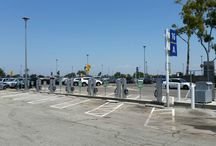 New Electric Vehicle Charging Stations Open at Parking Lot C / Now you have another place to charge your electric vehicles (EV) at LAX! Fourteen new EV charging stations are now available at LAX Parking Lot C, free of charge for electricity. Details: http://www.lawa.org/welcome_lax.aspx?id=8698 #LAX101 [PIC]: Robert Unite/LAWA