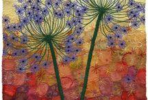 Agapanthus quilt