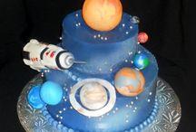cake design sistema solare