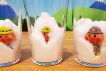 グラスの中で泡あわ❤アンパンマン脱出! アニメ&おもちゃ Anpanman toys