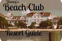 Disney's Beach Club Resort / by The Magic For Less Travel - Specializing in Disney and Universal Vacations