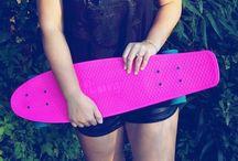 Fish & Penny skateboards <3