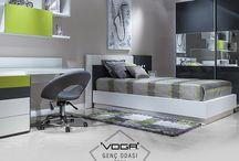 Voga Mobilya Genç Odaları / Voga Mobilya'nın en yeni genç odası koleksiyonlarını takip edebilirsiniz. | You may find latest youth room collections of Voga Mobilya in this board.