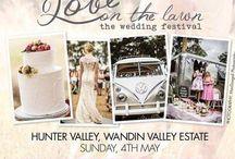 Love On The Lawn - Wedding Festival / www.loveonthelawn.com.au