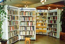 Библиотека/Library / Интерьеры библиотек, книги, книжные полки