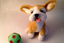 Needlefelting наше творчество / Handmade toys