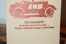 Retirement and goodbye cards