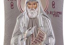 Saint Paisios Greek Orthodox icon