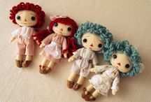 dolls n toys / by Debbie Conner