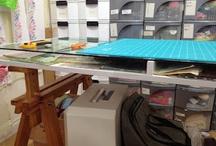 Quilt studio/sewing room