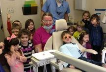 Childrens Dental Health Month / The team at Robinson Township Smiles had a great group from Little Footsteps Preschool in the office to celebrate Children's Dental Health Month