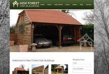 Oak Framed Garages / Selection of Oak Frame Garage images from different projects