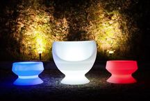 Lighting Furniture by Smart and Green / Partydeko, kreative, coole, beleuchtete Elemente und Möbel.