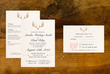 Weddings / Planning a wedding? Why not consider branding it with a complete identity which reflects your style from your save-the-dates to placecards on the big day! Contact us for anything you need for your happily ever after.