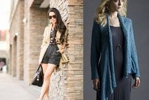 Monday's Looks / Modern styling ideas from the world of fashion paired with patterns (knit & crochet) in TSC yarn!