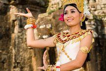 Asian DANCERS APSARA and BALINESE / ma passion des danseuses APSARAS et BALINESE