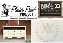 PLASTER PAINT - Projects