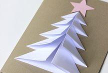 Vianočný pozdrav stromček
