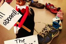 Elf On The Shelf Ideas / Since my eldest son was young we had an elf that arrived at the start of December, over the years he has got up to some mischief. Then the Elf on the shelf arrived in the UK properly, so this board is full of ideas for us to have fun with the naught elf on the shelf