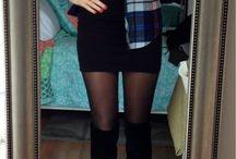 Black dress - casual looks