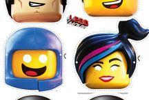 mascara lego movie