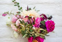 Wedding Colour - Shocking pink, magenta and Fuchsia / Hot pinks are the colours to choose if you want to make a statement, and, as there are so many beautiful vibrant pink flowers available (especially in summer months) you can really 'go for it!'