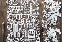 Captivating typography / Collection of inspiring typographic solutions