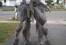 Impressive costumes