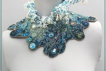 Seed Bead Embroidered and Beaded Jewelry