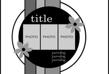 Scrapbook Layouts / by Judy Sissel