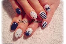 Hybrid nails ʕ•ᴥ•ʔ