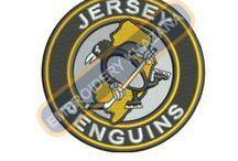 NHL Teams Logos Embroidery Designs