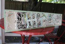 Mosaic / Mosaics made by Karyn Wiid